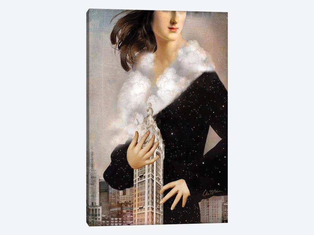 Manhattan by Catrin Welz-Stein 1-piece Canvas Art