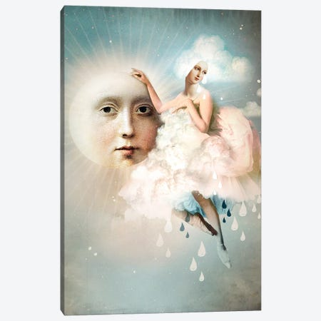 No Rain Today Canvas Print #CWS82} by Catrin Welz-Stein Canvas Artwork