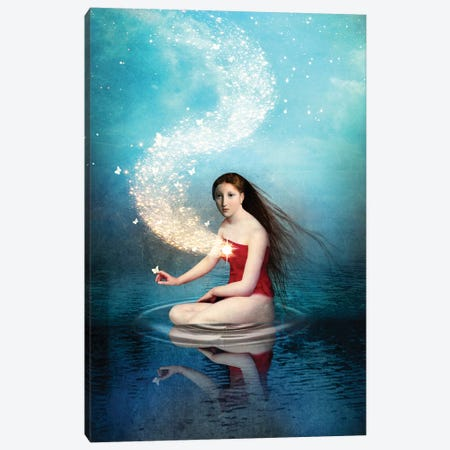 Shining Light II Canvas Print #CWS85} by Catrin Welz-Stein Art Print