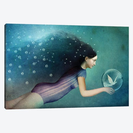 Take Me There Canvas Print #CWS89} by Catrin Welz-Stein Canvas Art