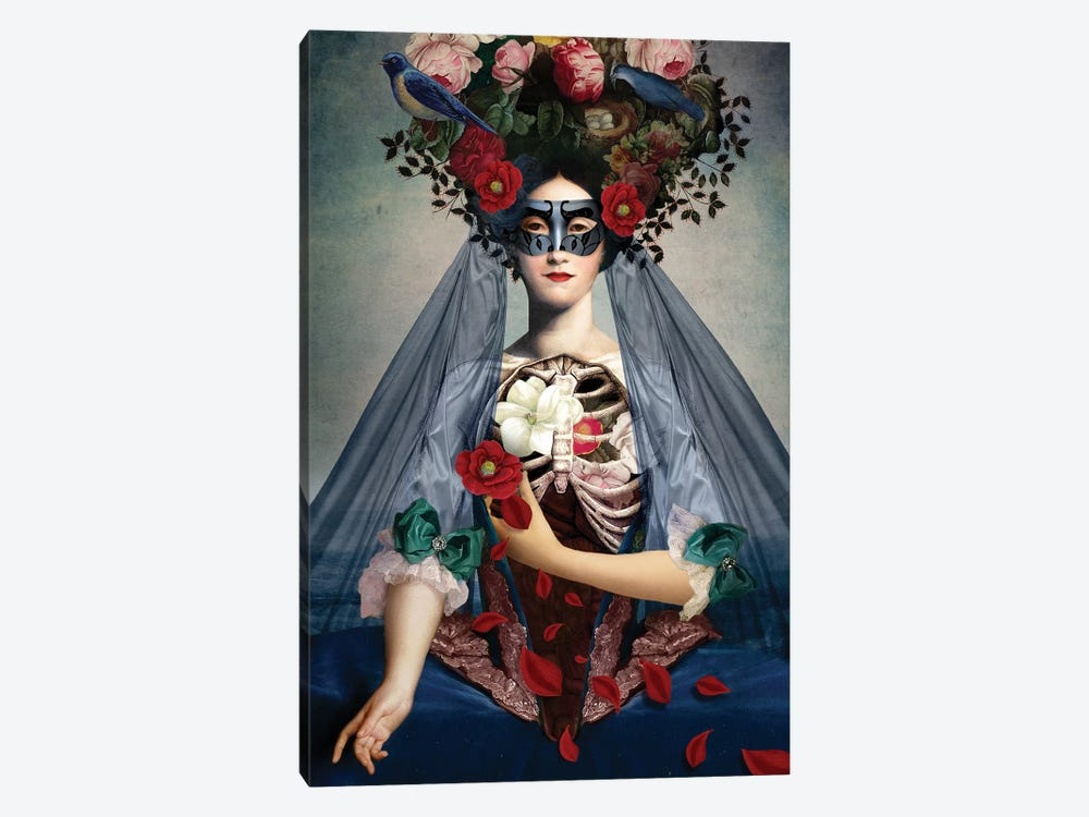 Dia de Los Muertos by Catrin Welz-Stein 1-piece Canvas Art