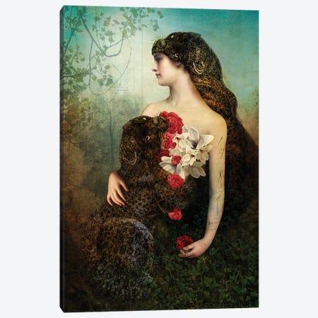 The Prey Canvas Print #CWS93} by Catrin Welz-Stein Canvas Art Print