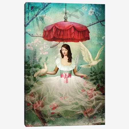 Earl Grey Sash Canvas Print #CWS9} by Catrin Welz-Stein Canvas Wall Art