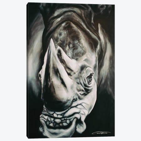 Rhino II Canvas Print #CWT10} by Chance Watt Canvas Artwork