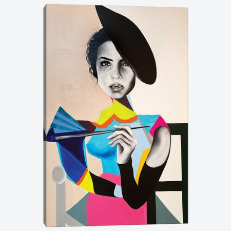 The Painter Canvas Print #CWT11} by Chance Watt Canvas Art