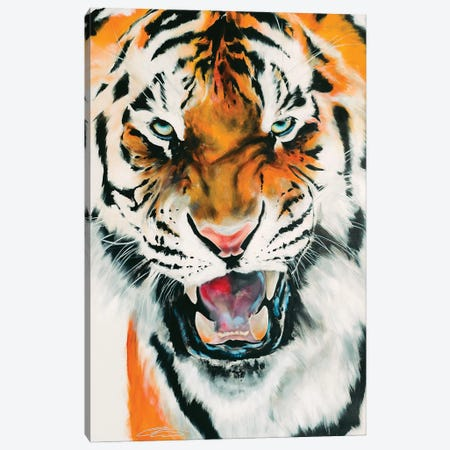 Tiger Canvas Print #CWT13} by Chance Watt Canvas Wall Art