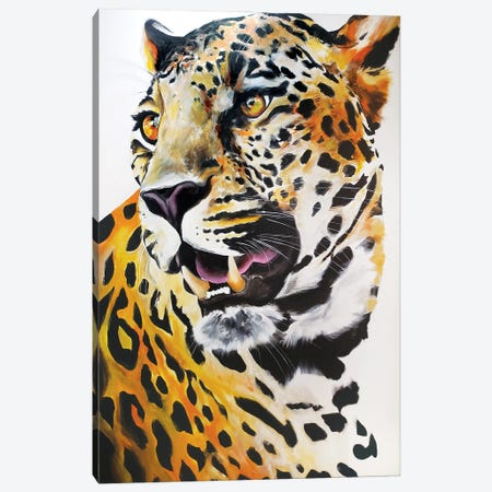 Cheetah Canvas Print #CWT1} by Chance Watt Canvas Art Print