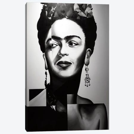 Frida Canvas Print #CWT3} by Chance Watt Art Print