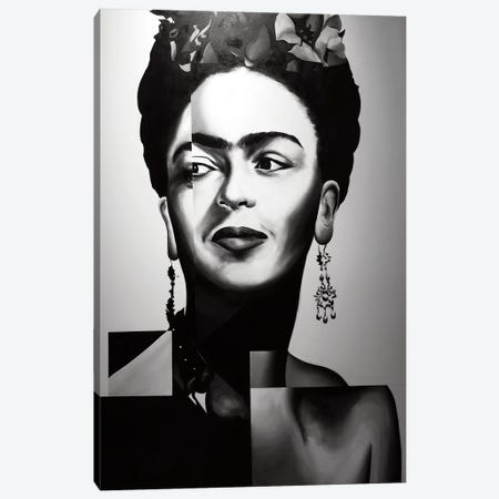 Frida Canvas Print #CWT3} by Chance Watt Art Print