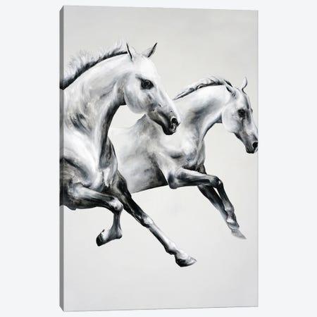 Horse Race Canvas Print #CWT5} by Chance Watt Canvas Artwork