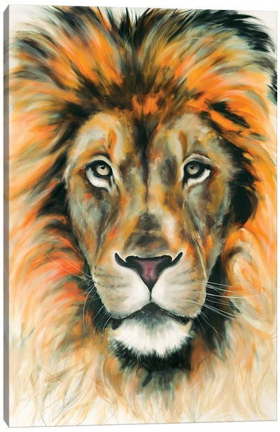 Lion II Canvas Art Print