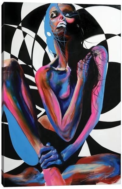 Pose Canvas Art Print