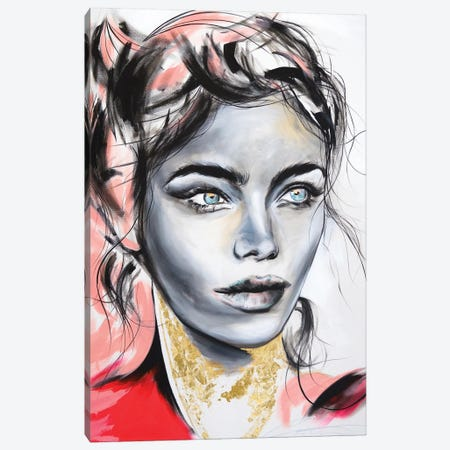 Red By Design Canvas Print #CWT9} by Chance Watt Canvas Art Print