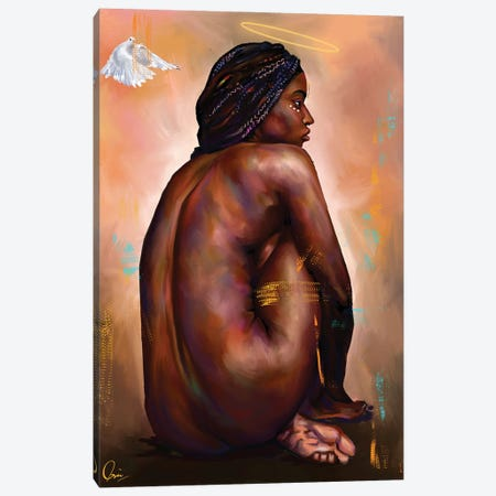 Eve  Canvas Print #CXE10} by Crixtover Edwin Art Print