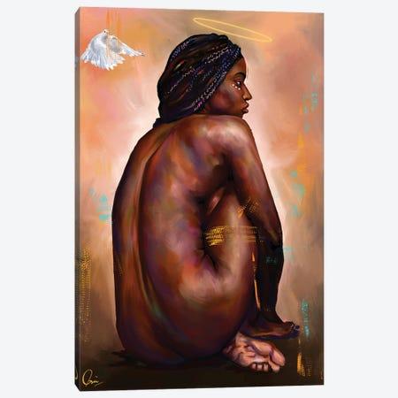 Eve  Canvas Print #CXE10} by Crixtover Edwin Art Print