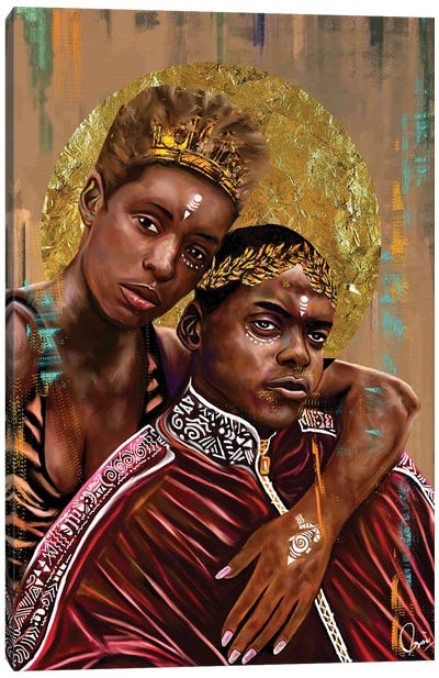 Queen And Slim Canvas Art Print