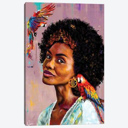 Lisa Canvas Print #CXE15} by Crixtover Edwin Canvas Artwork