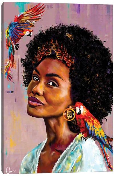 Lisa Canvas Art Print