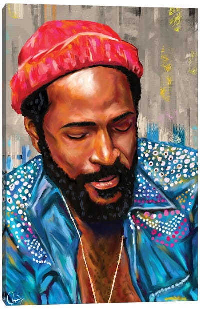 Marvin Gaye Canvas Art Print
