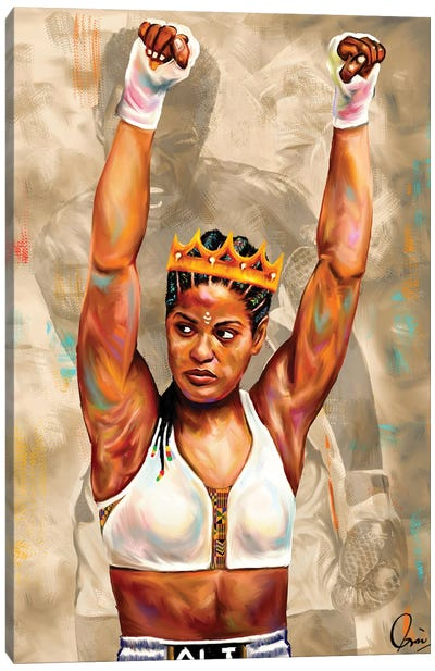 Laila Ali Canvas Art Print