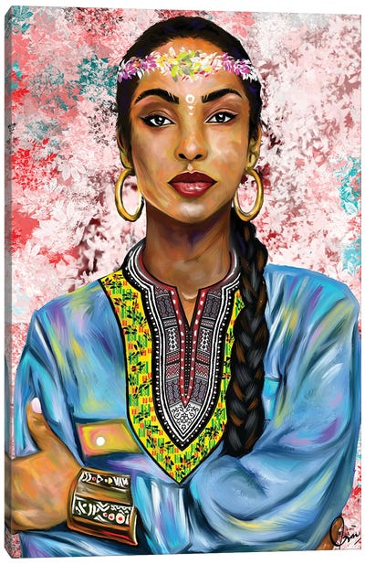 Sade Adu Canvas Art Print