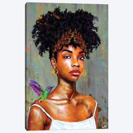 Mona Canvas Print #CXE29} by Crixtover Edwin Canvas Wall Art