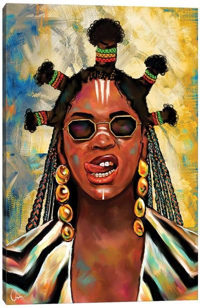 Black Is King Beyoncé Canvas Art Print