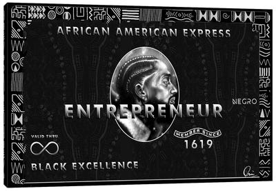 African American Express Canvas Art Print