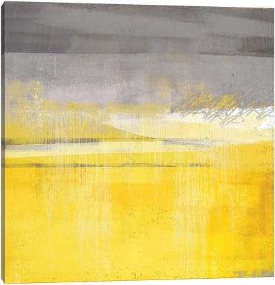 Golden Glow I Canvas Art Print