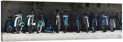 Bike Rack Blues Canvas Art Print
