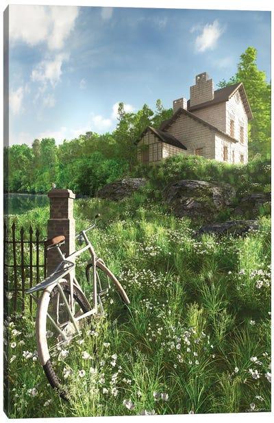 House On The Hill Canvas Art Print