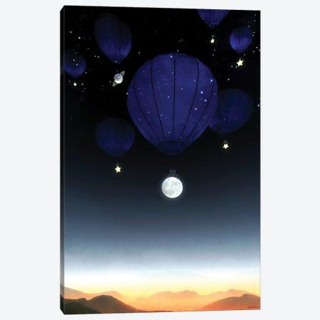 Moonrise Canvas Print #CYD46} by Cynthia Decker Canvas Print