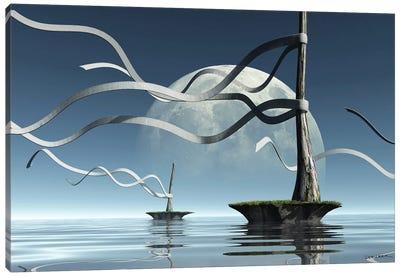 Ribbon Islands Canvas Art Print