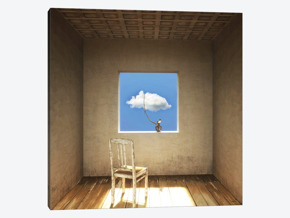 Room With A View Day by Cynthia Decker 1-piece Art Print
