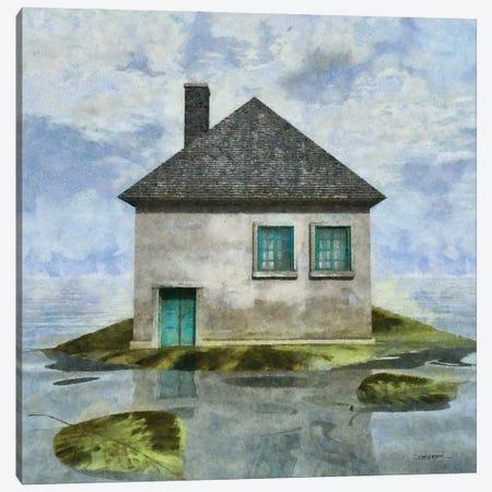 Tiny House II Canvas Print #CYD78} by Cynthia Decker Art Print