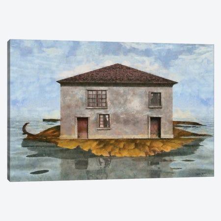 Tiny House IV Canvas Print #CYD80} by Cynthia Decker Canvas Artwork