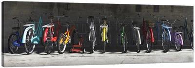 Bike Rack Canvas Art Print