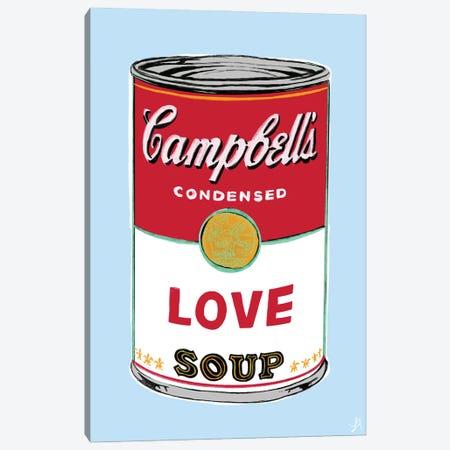Love Soup Canvas Print #CYE19} by Chromoeye Canvas Wall Art
