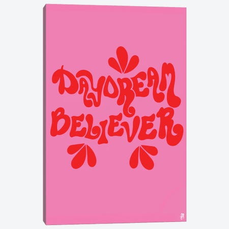 Daydream Believer Canvas Print #CYE24} by Chromoeye Canvas Wall Art