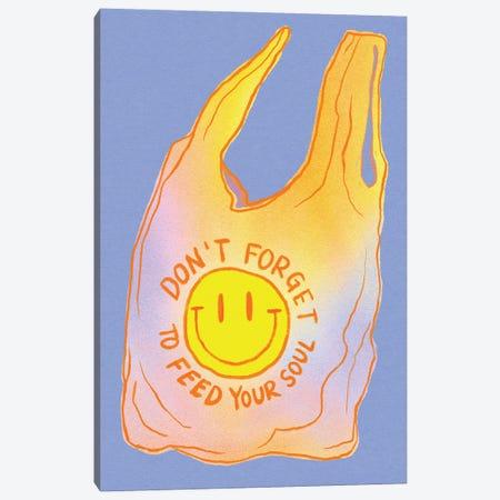 Feed Your Soul Canvas Print #CYE40} by Chromoeye Canvas Print