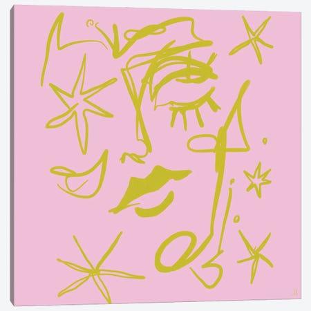 Star Gazer Canvas Print #CYE7} by Chromoeye Canvas Art