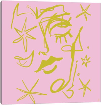 Star Gazer Canvas Art Print