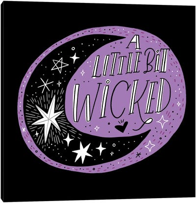 A Little Bit Wicked Canvas Art Print