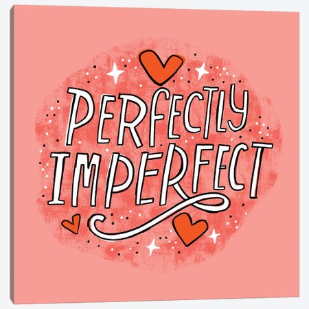 Perfectly Imperfect Canvas Print #CYF64} by Cynthia Frenette Canvas Art Print
