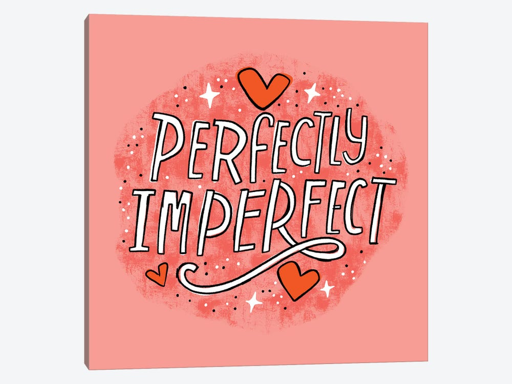 Perfectly Imperfect by Cynthia Frenette 1-piece Canvas Art