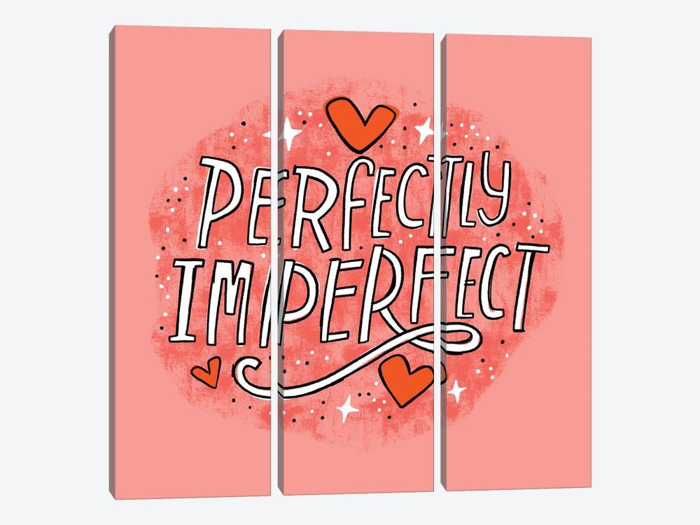 Perfectly Imperfect by Cynthia Frenette 3-piece Canvas Wall Art