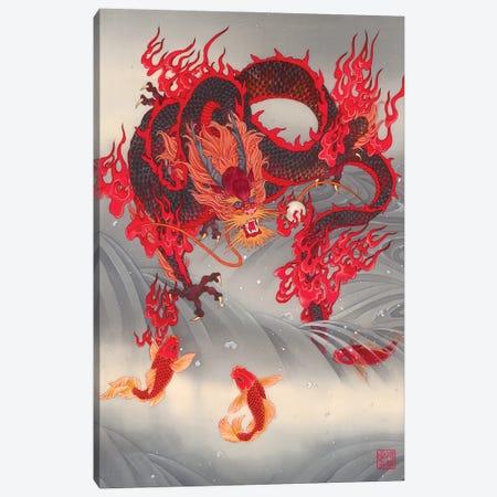 Dragon Gate Canvas Print #CYG12} by Caroline R. Young Canvas Artwork