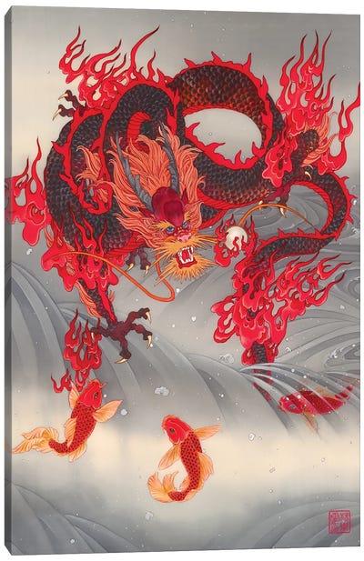 Dragon Gate Canvas Art Print