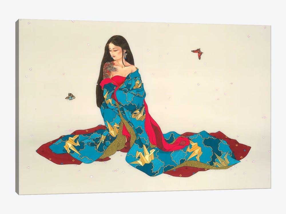 Dragon Mystique by Caroline R. Young 1-piece Canvas Art