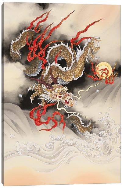 Dragon Quest Canvas Art Print